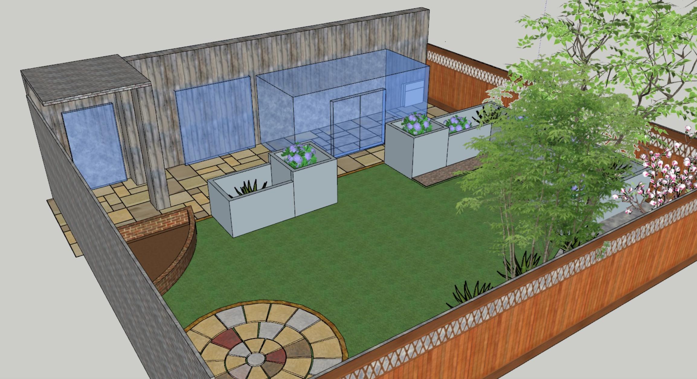 Low Maintenance Small Garden Design Fusmun